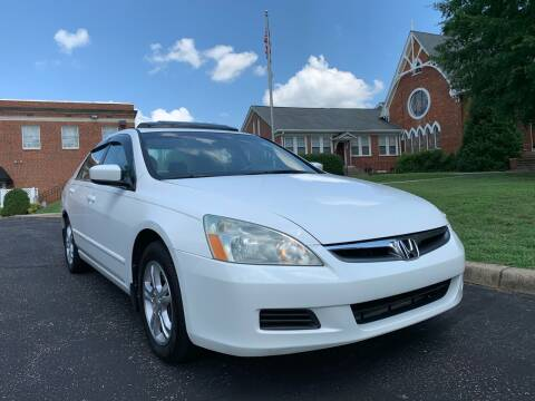 2007 Honda Accord for sale at Automax of Eden in Eden NC