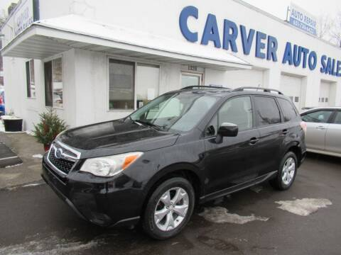 2014 Subaru Forester for sale at Carver Auto Sales in Saint Paul MN