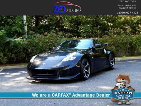 2013 Nissan 370Z for sale at Zed Motors in Raleigh NC
