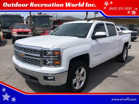 2015 Chevrolet Silverado 1500 for sale at Outdoor Recreation World Inc. in Panama City FL