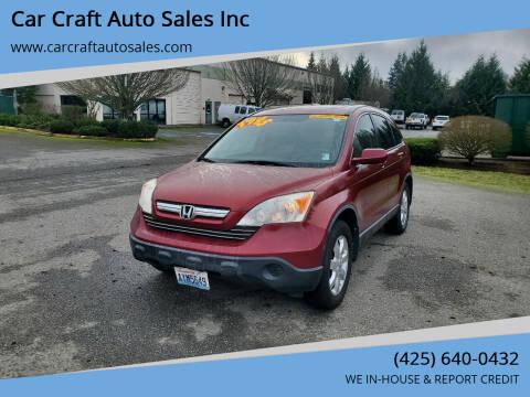 2007 Honda CR-V for sale at Car Craft Auto Sales Inc in Lynnwood WA