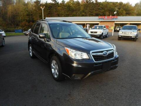 2015 Subaru Forester for sale at Automotive Toy Store LLC in Mount Carmel PA
