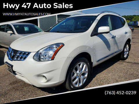 2013 Nissan Rogue for sale at Hwy 47 Auto Sales in Saint Francis MN