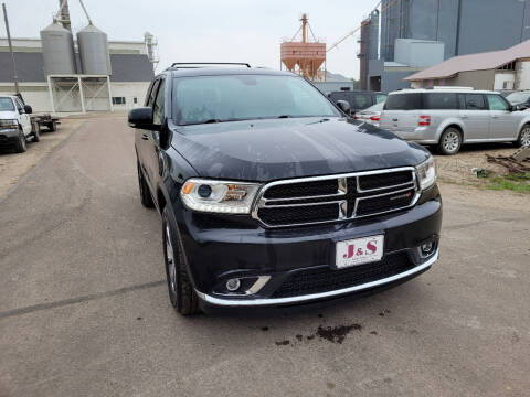2016 Dodge Durango for sale at J & S Auto Sales in Thompson ND