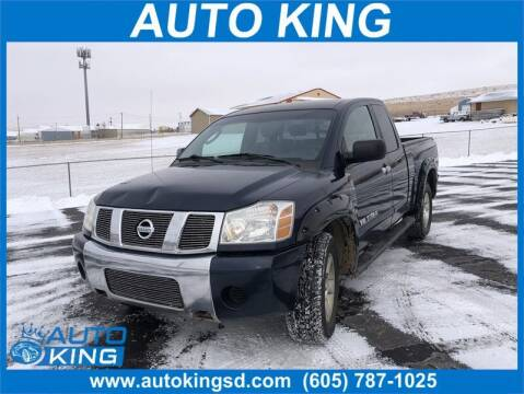 2006 Nissan Titan for sale at Auto King in Rapid City SD