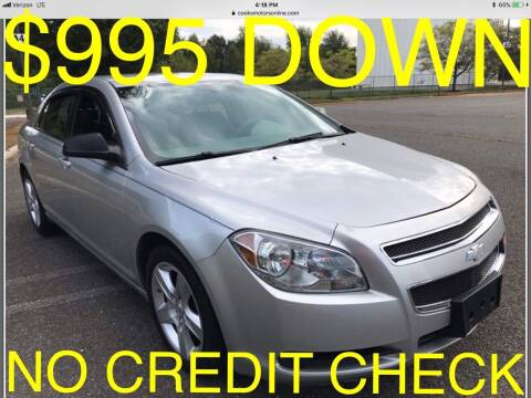 2011 Chevrolet Malibu for sale at Cooks Motors in Westampton NJ