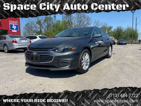 2018 Chevrolet Malibu for sale at Space City Auto Center in Houston TX