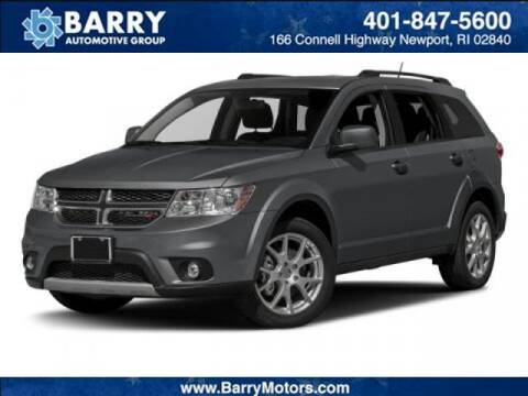 2017 Dodge Journey for sale at BARRYS Auto Group Inc in Newport RI