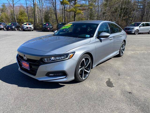 2019 Honda Accord for sale at North Berwick Auto Center in Berwick ME