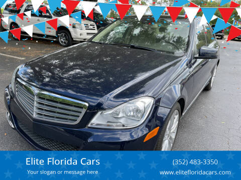 2014 Mercedes-Benz C-Class for sale at Elite Florida Cars in Tavares FL
