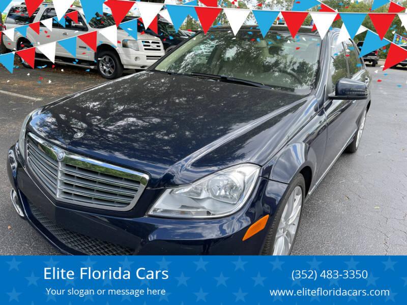 2014 Mercedes-Benz C-Class for sale at Elite Florida Cars in Tavares FL