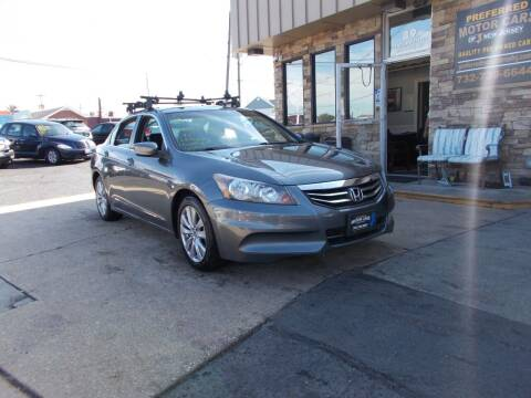 2012 Honda Accord for sale at Preferred Motor Cars of New Jersey in Keyport NJ