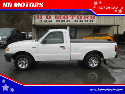 2008 Mazda B-Series Truck for sale at HD MOTORS in Kingsport TN