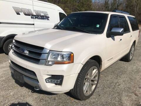 2017 Ford Expedition EL for sale at BILLY HOWELL FORD LINCOLN in Cumming GA