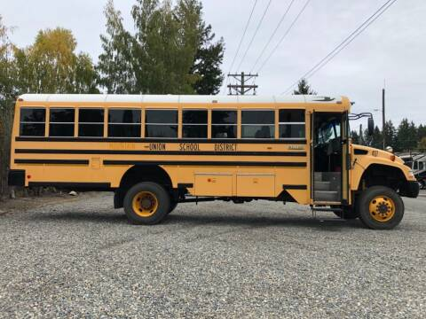 2009 Blue Bird 4WD Bus for sale at Grandview Motors Inc. in Gig Harbor WA
