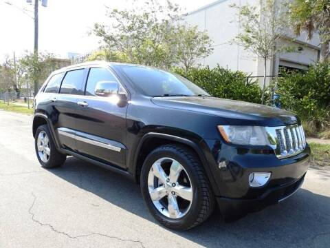 2011 Jeep Grand Cherokee for sale at SUPER DEAL MOTORS 441 in Hollywood FL