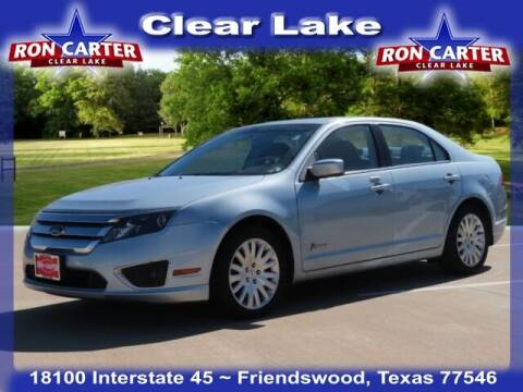 2010 Ford Fusion Hybrid for sale at Ron Carter  Clear Lake Used Cars in Houston TX