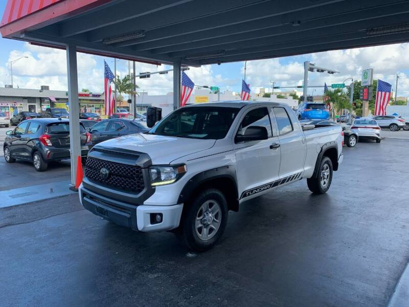 2018 Toyota Tundra for sale at American Auto Sales in Hialeah FL