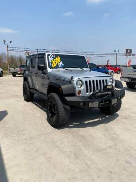 2012 Jeep Wrangler Unlimited for sale at A & V MOTORS in Hidalgo TX