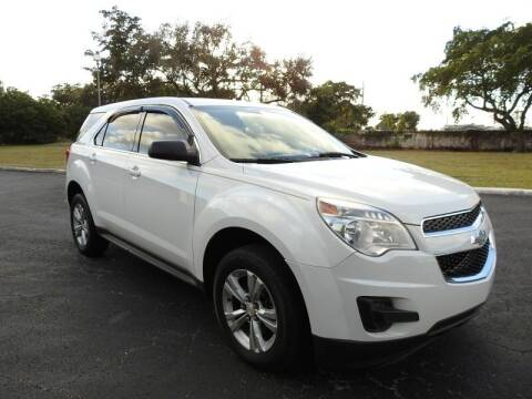 2013 Chevrolet Equinox for sale at SUPER DEAL MOTORS 441 in Hollywood FL