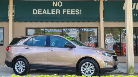 2019 Chevrolet Equinox for sale at Dunn-Rite Auto Group in Longwood FL