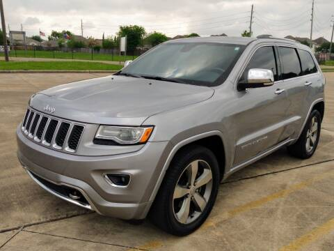 2015 Jeep Grand Cherokee for sale at AUTO DIRECT Bellaire in Houston TX