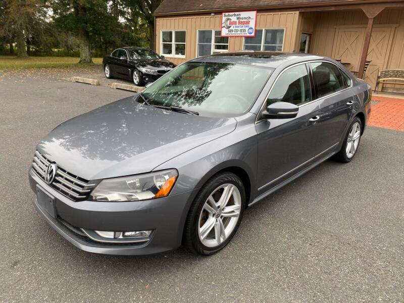 2013 Volkswagen Passat for sale at Suburban Wrench in Pennington NJ