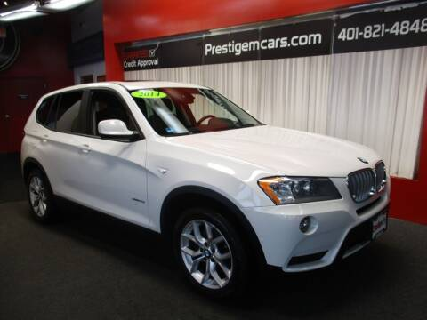 2014 BMW X3 for sale at Prestige Motorcars in Warwick RI