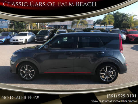 2020 Kia Soul for sale at Classic Cars of Palm Beach in Jupiter FL