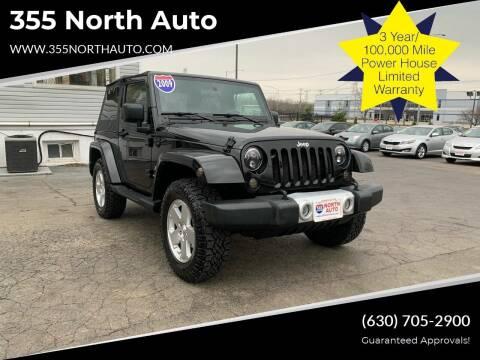 2009 Jeep Wrangler for sale at 355 North Auto in Lombard IL