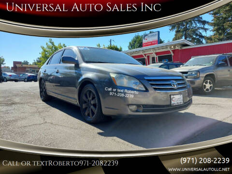 2006 Toyota Avalon for sale at Universal Auto Sales Inc in Salem OR