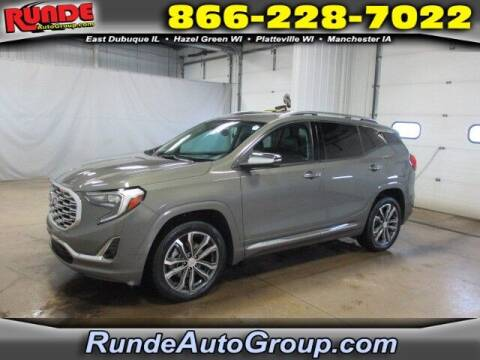 2018 GMC Terrain for sale at Runde Chevrolet in East Dubuque IL