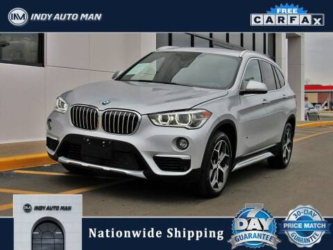 2017 BMW X1 for sale at INDY AUTO MAN in Indianapolis IN