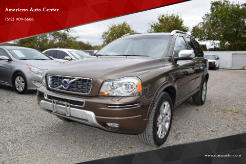 2013 Volvo XC90 for sale at American Auto Center in Austin TX