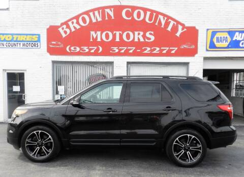 2015 Ford Explorer for sale at Brown County Motors in Russellville OH