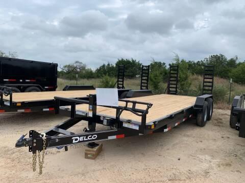 """2022 DELCO  - Equipment 83"""" X 22' -  for sale at LJD Sales in Lampasas TX"""