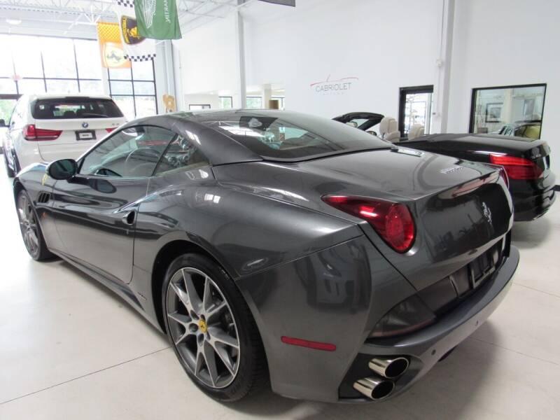 2011 Ferrari California for sale at Cabriolet Motors in Morrisville NC