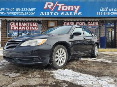 2011 Chrysler 200 for sale at R Tony Auto Sales in Clinton Township MI