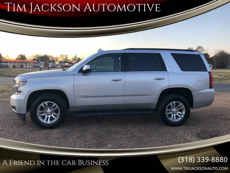 2020 Chevrolet Tahoe for sale at Tim Jackson Automotive in Jonesville LA