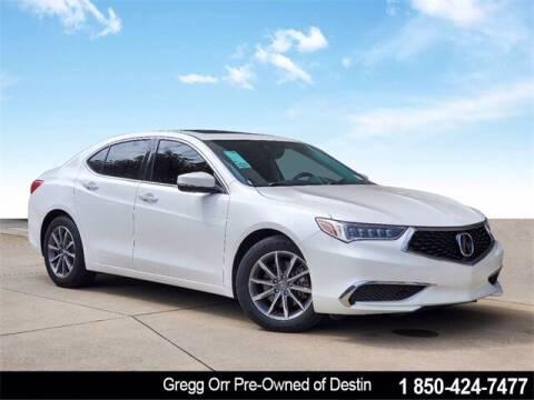 2020 Acura TLX for sale at Gregg Orr Pre-Owned of Destin in Destin FL