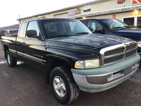 1998 Dodge Ram Pickup 1500 for sale at Troys Auto Sales in Dornsife PA