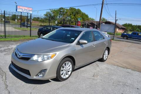 2013 Toyota Camry Hybrid for sale at Preferable Auto LLC in Houston TX