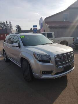 2013 GMC Acadia for sale at WB Auto Sales LLC in Barnum MN