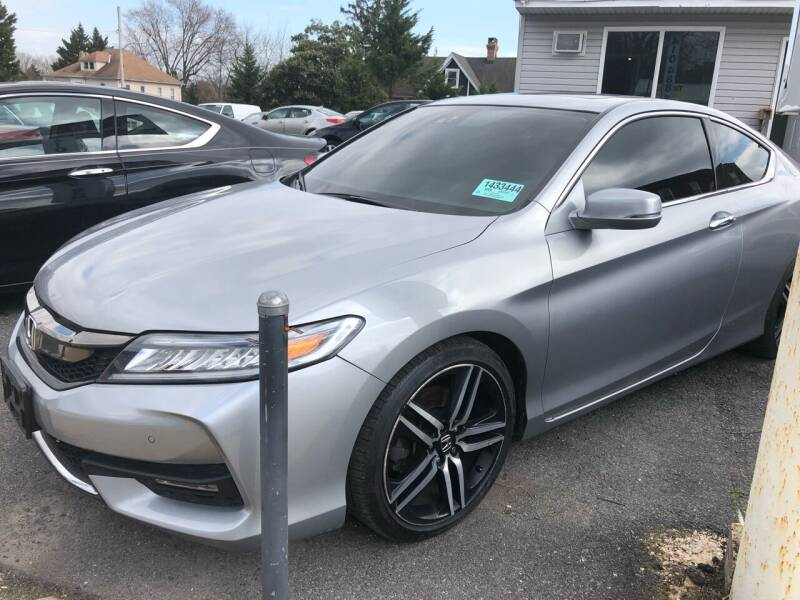 2017 Honda Accord for sale at Trimax Auto Group in Baltimore MD