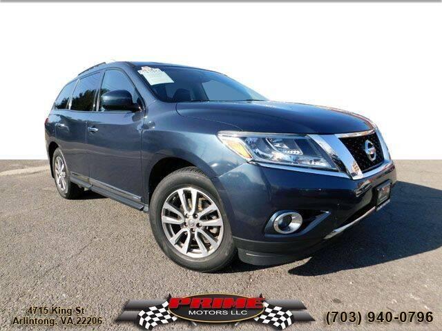 2014 Nissan Pathfinder for sale at PRIME MOTORS LLC in Arlington VA