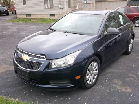 2011 Chevrolet Cruze for sale at Straight Line Motors LLC in Fort Wayne IN