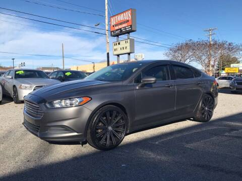 2014 Ford Fusion for sale at Autohaus of Greensboro in Greensboro NC