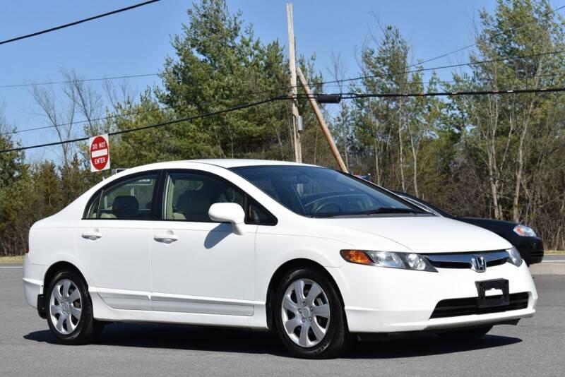 2007 Honda Civic for sale at GREENPORT AUTO in Hudson NY