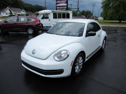 2015 Volkswagen Beetle for sale at Lake County Auto Sales in Painesville OH