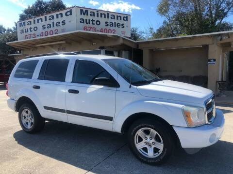 2006 Dodge Durango for sale at Mainland Auto Sales Inc in Daytona Beach FL